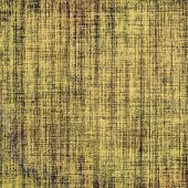 Grunge aging texture, art background. With different color patterns: brown; yellow; gray