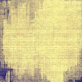 Grunge old texture as abstract background. With different color patterns: gray; blue; yellow