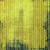 Grunge old texture as abstract background. With different color patterns: brown; yellow; green; blue