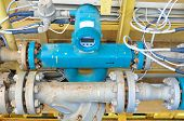 Flow meter for measure oil , liquid and gas in the system, The meter to measure flow condition