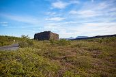 Canyon Asbyrgi, Iceland