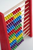 Wooden Abacus - Top view