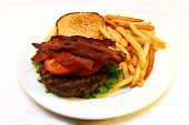 Grilled Bacon Burger