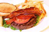Open Hamburger