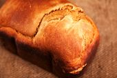 picture of home-made bread  - Home made bread isolated - JPG