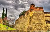 foto of apennines  - Walls of the Forte di Belvedere in Florence  - JPG