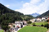 image of municipal  - Along the route of the Bernina Railway located is Brusio - JPG
