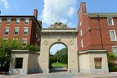 pic of gate  - Brown University main gate - JPG