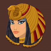 picture of cleopatra  - Icon portrait Cleopatra - JPG