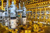 pic of offshore  - Oil and gas production slot on the platform - JPG