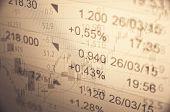stock photo of stock market crash  - Financial concept - JPG