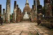 Sukhothai Buddha Temple Ruins