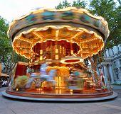 Carrousel in motion