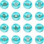 Internet ou conjunto de ícones de computação