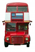 Red London Bus Profile