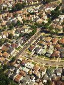 Suburban City Aerial