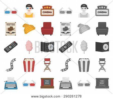 Films And Cinema Cartoon Mono
