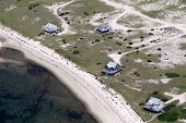 Cape Cod Beach Cottages Aerial