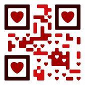 Love Qro Code
