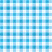 Blue Gingham Repeat Pattern With Fabric Texture