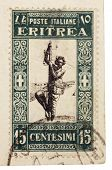 Stamp From Eritrea