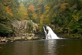 stock photo of abram  - abrams falls in the smoky mountains - JPG
