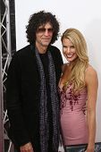 NEW YORK-NOV 12: Howard Stern and Beth Ostrowsky attend the premiere of