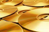 Textura de disco (oro)