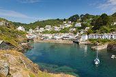 Polperro Cornwall England UK