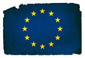 Grungy Flag - European Union