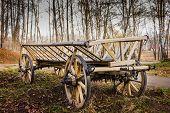 Old Village Wagon