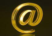 Symbol E-mail.