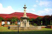 Fort Ilocandia Resort Fountain Landscape Scene