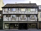 Half-timbered House In Cambridge, England