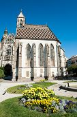 Famous St. Elizabeth's Cathedral in Kosice, Slovakia