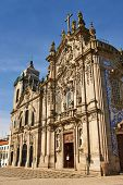 image of carmelite  - Two portuguese churches in Porto Carmelitas Church and Carmo Church - JPG