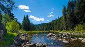 picture of raft  - The side way when you go to Lake Tahoe - JPG
