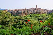 Tuscan hill town