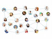 networking concept - social network