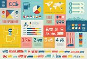 pic of motor vehicles  - Transportation Infographic Template - JPG