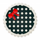 Round Polka Dot Patch