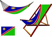 Namibia Hammock And Deck Chair Set