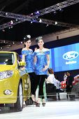 Bangkok - March 26 : Ford Car With Unidentified Model On Display At The 34Th Bangkok International M