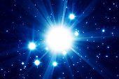 Supernova star explosion
