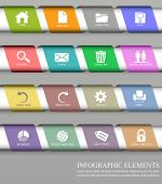 Infographic design element for your presentations and web sites