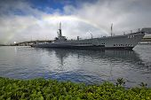 Pearl Harbor, Oahu, Hawaii, USA - January 2013