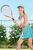 Постер, плакат: Tennis Court