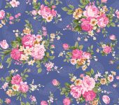 Retro Flower Seamless Pattern