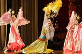 Tang dynasty dance in Xian, China
