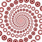 Design Decorative Elements Whirl Movement Background